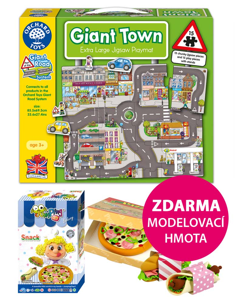 Puzzle - Silnice město | ♥ Ditipo.cz